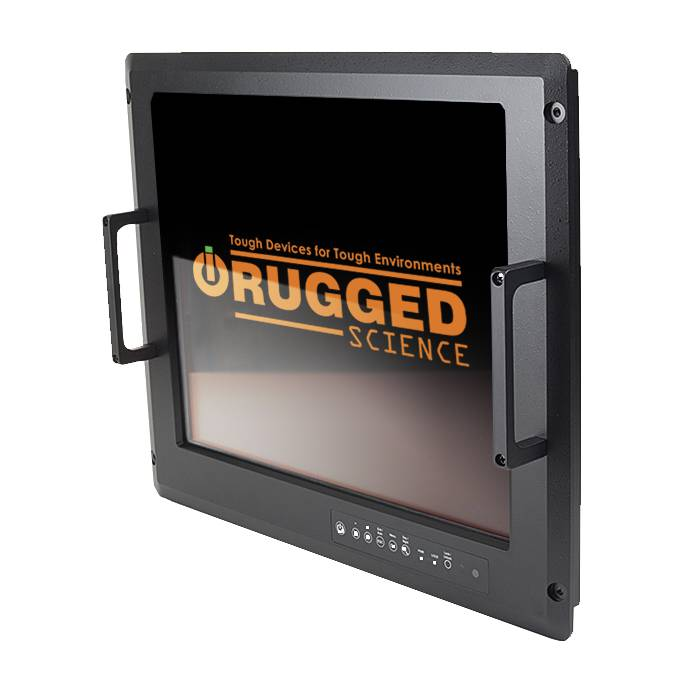 Military Flat Panel Lcd Displays Rugged Science