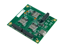 ESM-100 SUMIT 3-Slot MiniPCIe Expander Card