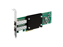 Image of low Profile 2-port 10 GigE SFP+ Expansion Card, PCI Express x4